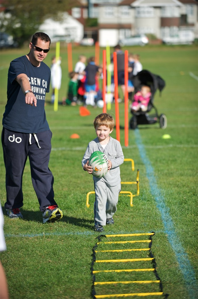 Rugby fitness for infants and juniors