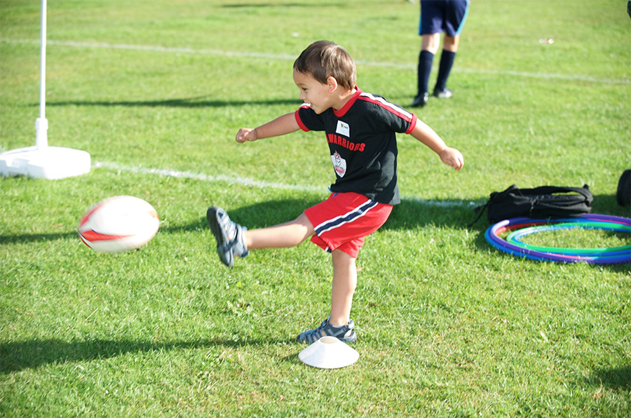 Infant rugby coaching - kicking